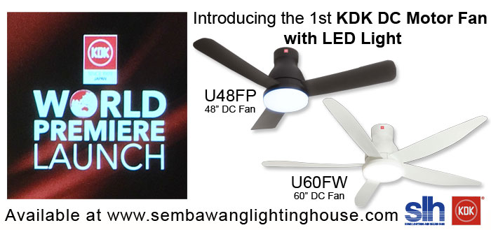 Buy Cheap KDK Fan DC With LED Light In Singapore KDK Fans