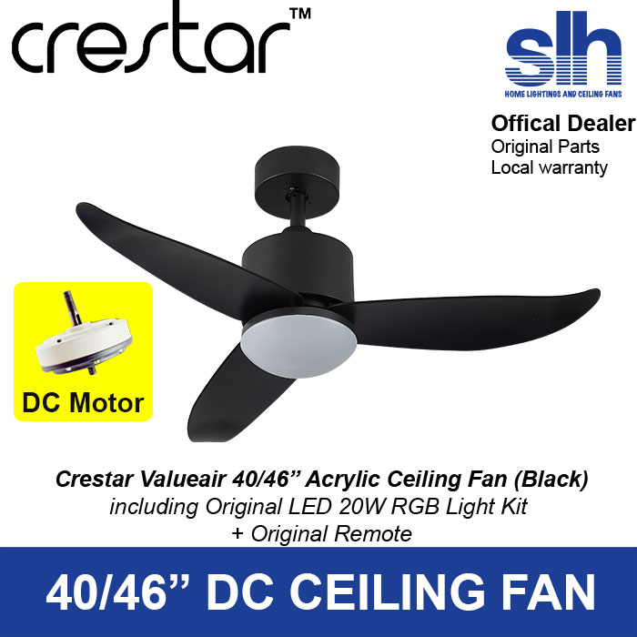 Crestar Valueair DC Ceiling Fan