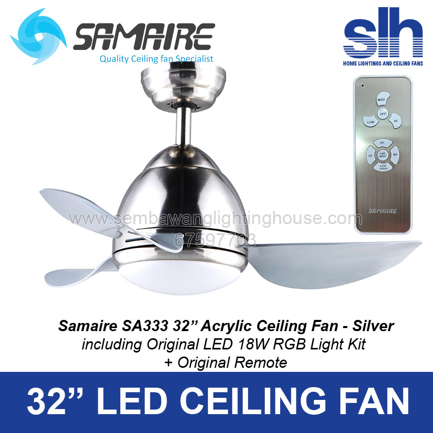 Samaire sa333 33 led ceiling fan antique brown ab samaire sa333 ceiling fan sembawang lighting house st mozeypictures Choice Image